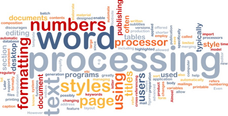 Word Processing Software Applications